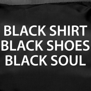 Black Shirt Shoes Soul Black soul - Duffel Bag