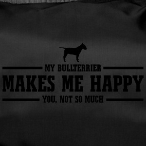 BULLTERRIER makes me happy - Sporttasche