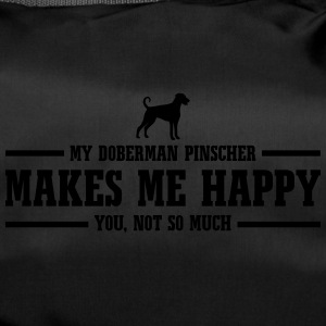 DOBERMAN PINSCHER makes me happy - Sporttasche