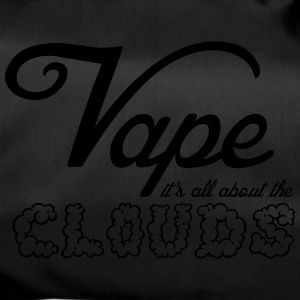 Vape - it's all about the clouds uni - Sporttasche