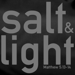 Salt & Light - Matt 5: 13-14 - Sportstaske
