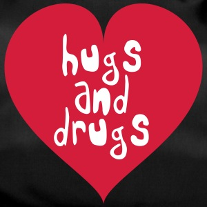 HUGS AND DRUGS - TECHNO TSHIRT - Sporttasche