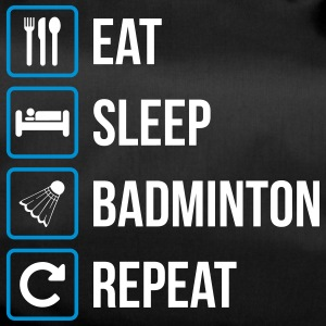 Eat Sleep Badminton Repeat - Sportväska