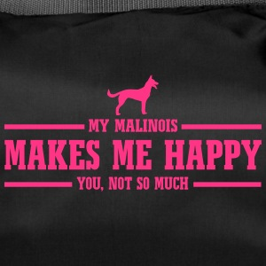 MALINOIS makes me happy - Duffel Bag