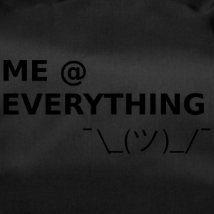 ME AT EVERYTHING - Duffel Bag