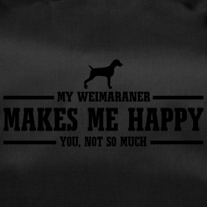 WEIMARANER makes me happy - Sporttasche