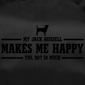 JACK RUSSELL makes me happy - Duffel Bag