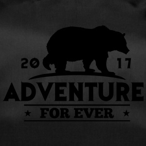 ADVENTURE FOR EVER - GRIZZLY - Borsa sportiva
