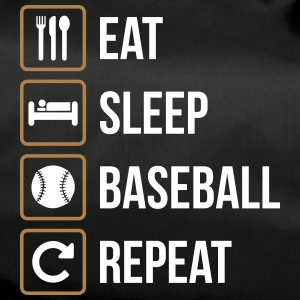 Eat Sleep Softball Repeat - Sporttas
