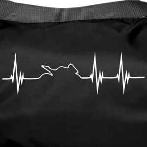 Moto Bike Hearbeat Shirt - Sporttasche