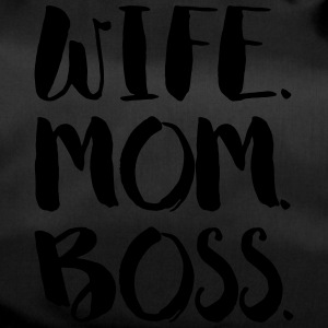 WIFE. MOM. BOSS - Duffel Bag