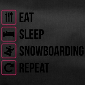 Eat Sleep Snowboard Repeat - Borsa sportiva