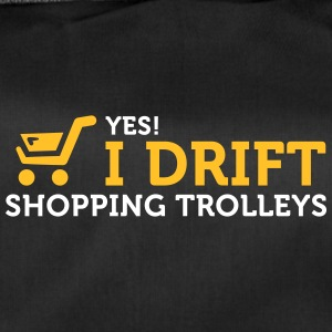 Yes! I Drift With Shopping Cart In The Supermarket - Duffel Bag