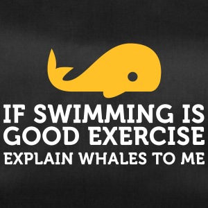 Swimming Keeps You Fit? Then Explain Whales! - Duffel Bag