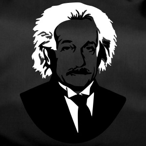 Albert Einstein Genius bust picture graphic - Duffel Bag