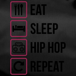 Eat Sleep Hip Hop Gentag - Sportstaske