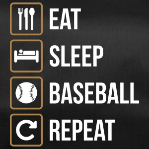 Eat Sleep Baseball Softball Repeat - Duffel Bag