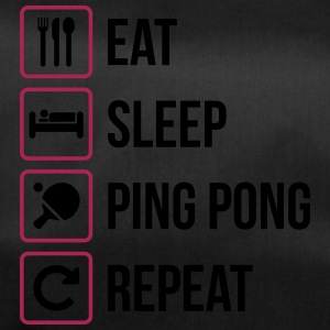 Eat Sleep Ping Pong Repeat - table tennis - Duffel Bag