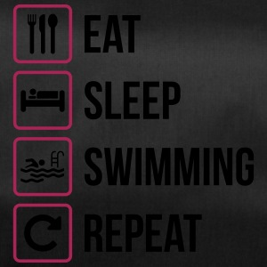 Eat Sleep Nuoto Repeat - Borsa sportiva