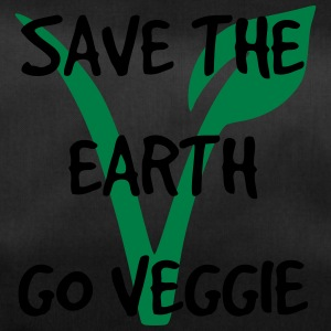 Save the earth go veggie - Duffel Bag