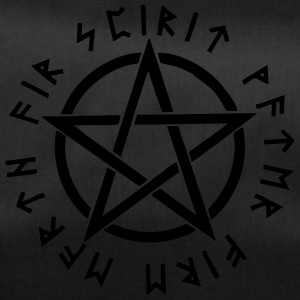Pentagram, pentacle, magic, symbol, runen - Sporttasche