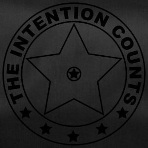 THE INTENTION COUNTS - Duffel Bag