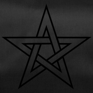 Pentagram, pentacle, magic, symbol, witchcraft, - Duffel Bag