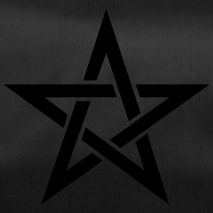 Pentagram, pentacle, magic, symbol, hexerei, - Sporttasche