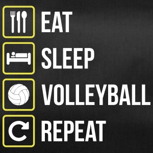 Eat Sleep Volleyball Gjenta - Sportsbag