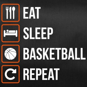 Eat Sleep Pallacanestro Repeat - Borsa sportiva