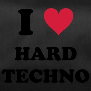 I LOVE HARD TECHNO - Sporttasche