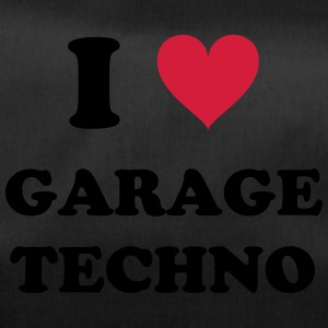 I LOVE GARAGE TECHNO - Sporttasche