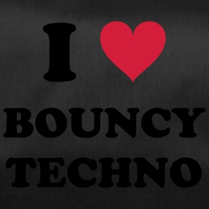 I LOVE BOUNCY TECHNO - Sporttasche