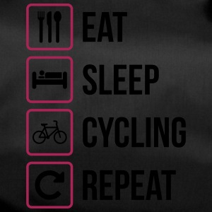 Eat Sleep Cycling Repeat - Sportväska