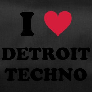 I LOVE DETROIT TECHNO - Sporttasche