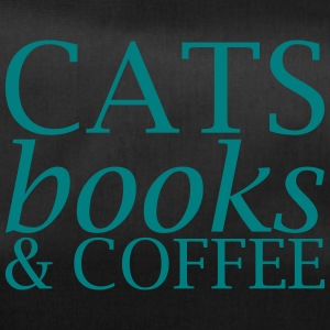 Cats Books and Coffee - Duffel Bag