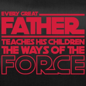 Great Father teaches childern to force - fathers day - Duffel Bag
