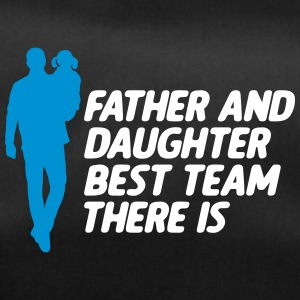 Father and Daughter Best Team fathers day - Duffel Bag