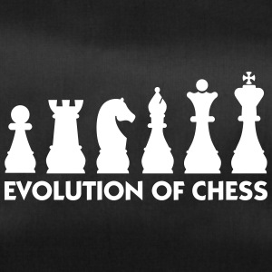 The Evolution Of Chess - Duffel Bag