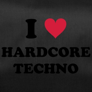 I LOVE HARD-CORE TECHNO - Sporttasche