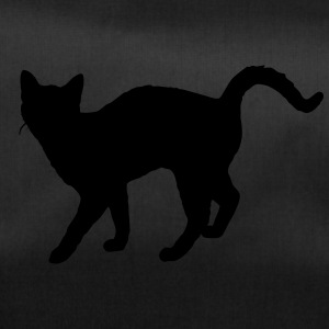 Vector Cat Silhouette - Duffel Bag