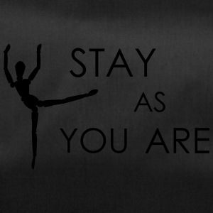 stay as you are - Sporttasche