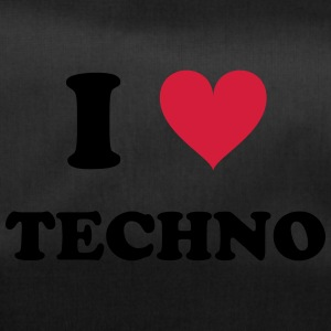 I LOVE TECHNO - Sporttasche