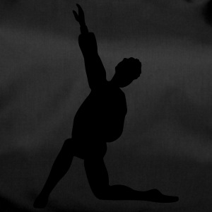 Vector Ballet dancer Silhouette - Duffel Bag