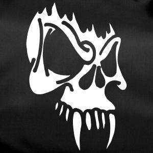 Wicked Skull With Fangs - Duffel Bag