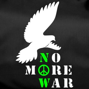No More War Now Silhouette - Sporttasche