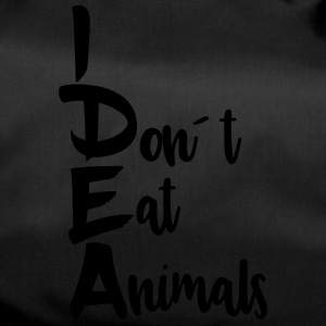 Idea: I don´t eat animals - Sporttasche