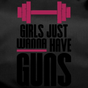 Pige Just Wanna Guns Gym Fitness - Sportstaske