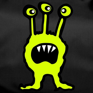 Monster with three eyes - Duffel Bag