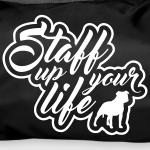 STAFF UP YOUR LIFE - American Staffordshire - Sporttasche